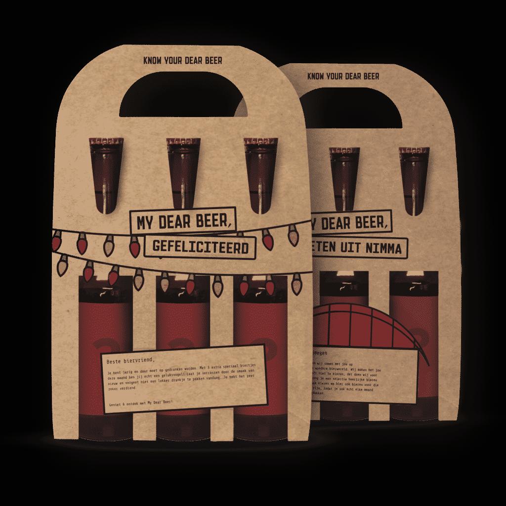 maandelijks bierabonnement van My Dear Beer
