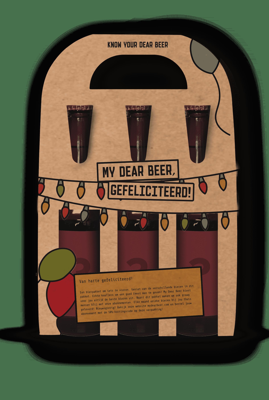 My Dear Beer Gefeliciteerd