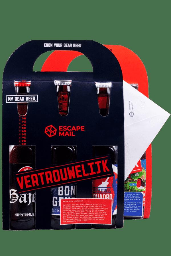 Escape room thuis bier